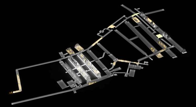 Система тоннелей Дуврского замка